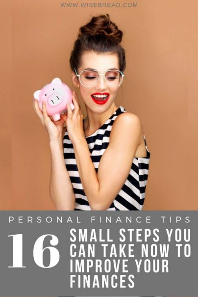 With the new year here, it's time to take control of your financial goals. From creating a household budget, to calculating your net worth, or setting a monthly savings amount, we've got 16 small steps you can take to improve your finances. | #personalfinance #moneymatters #budgeting
