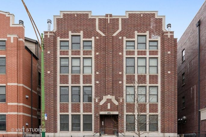 Our condo building in Chicago, where we've lived for four years